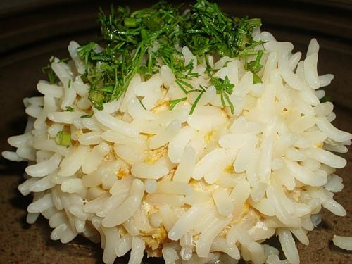 Рецепт Куриные ежики с рисом басмати в пароварке