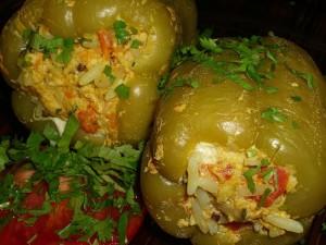 Рецепт Фаршированные перцы в пароварке