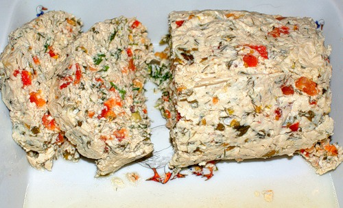 Рецепт Куриная буханка с овощами в пароварке