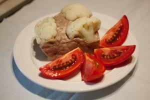 Рецепт Запеканки из курицы с цветной капустой и брокколи в пароварке