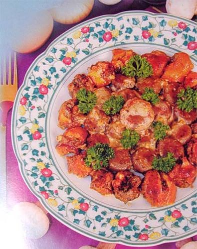 Рецепт Шампиньоны по-итальянски в пароварке